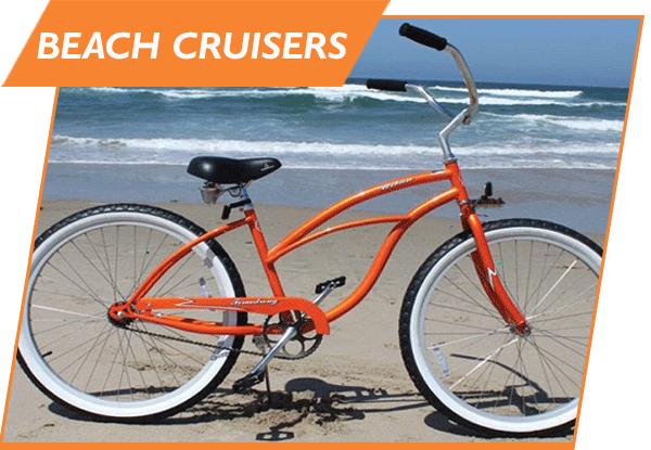 bicycle beach cruiser rental