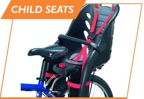 child seat bike rental