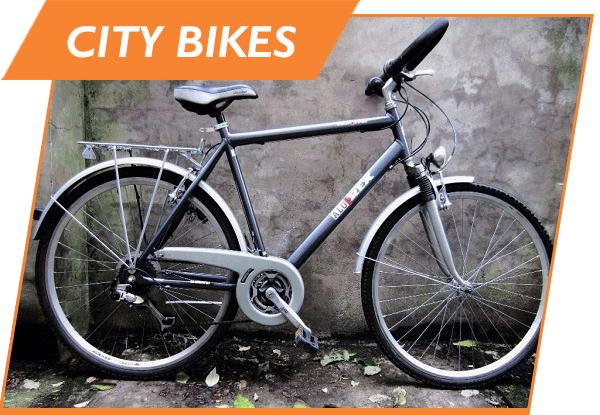 bicycle city bike rental
