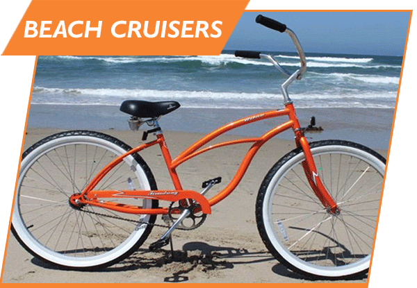 bicycle beach cruiser rental