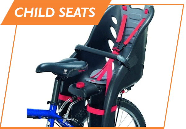 child seat bike rental